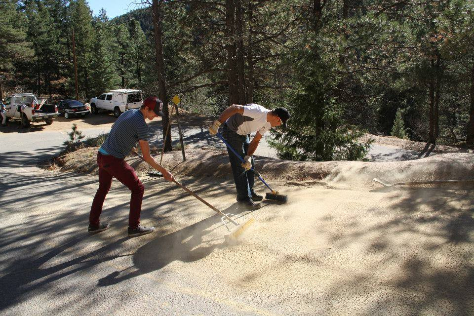 Operation Upper Cheyenne Canyon Switchback Cleanup