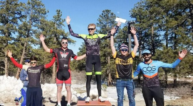 COS Racing Competes in the Road Race at 'Front Range Classic'