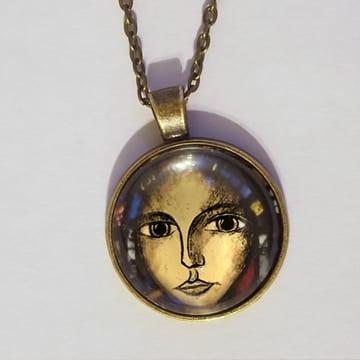 2020 Saint Medallion Necklace 20 pk