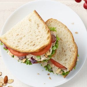 Napa Almond Chicken Salad Sandwich Boxed Lunch