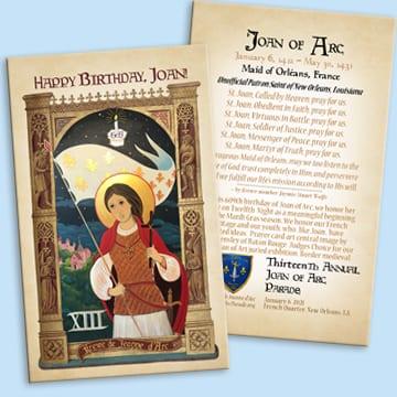 2021 Prayer Cards - 20 pk