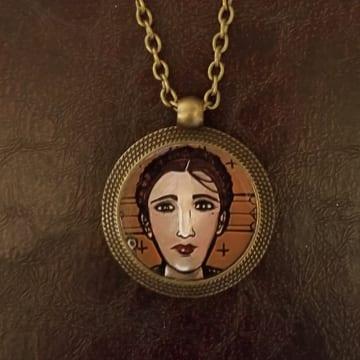 2021 Saint Medallion Necklace - individual