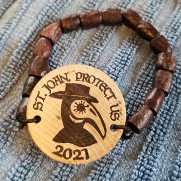 2021 Plague doubloon bracelet