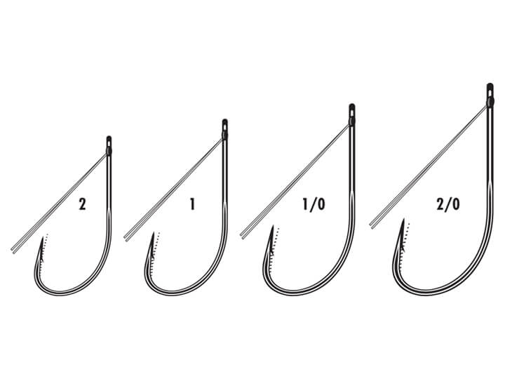 Best weedless wacky hook style for bass