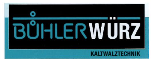 Representation of Bühler Würz Kaltwalztechnik GmbH