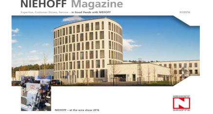 Niehoff Magazine - Issue 1/2016