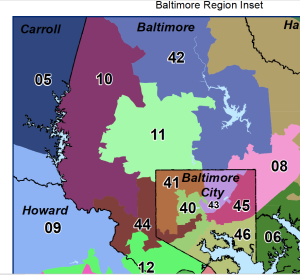 Baltimore County District 10 Map
