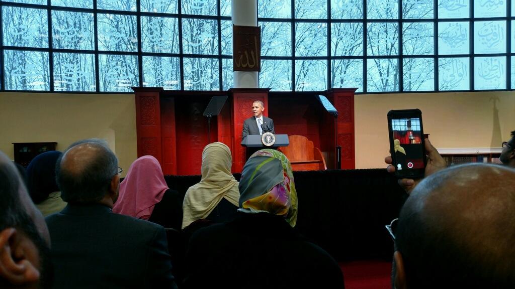 President Obama Mosque Visit