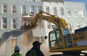 vacant homes demolition