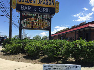 golden dragon restaurant may be rezoned