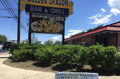 golden dragon restaurant may be rezoned