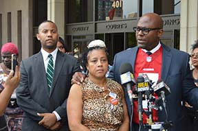 Gaines Family and Attorney
