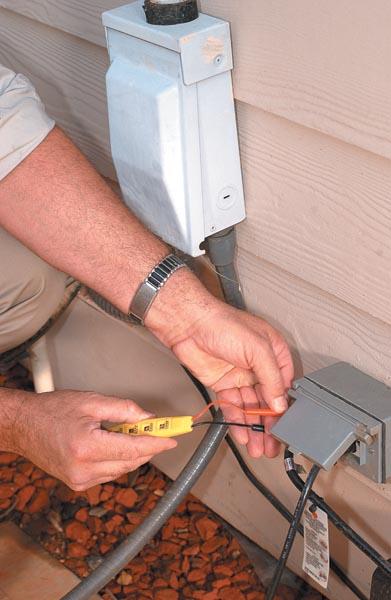outdoor outlet repair san luis obispo