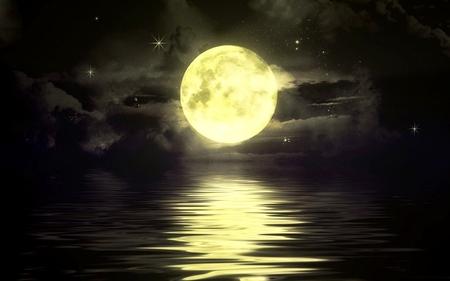 Walt Whitman Yellow Moon