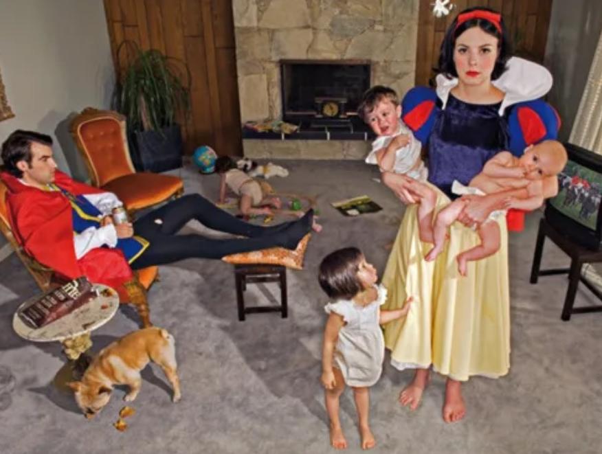 Snow White Married w Children
