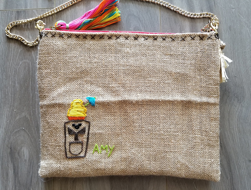 DIY Disney Tiki Room Handbag