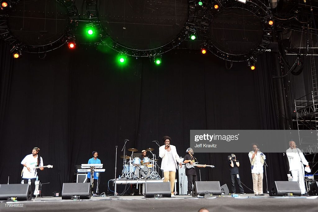 The Itals perform on stage during Bonnaroo 2009 on June 12, 2009 in Manchester, Tennessee. (Photo by Jeff Kravitz/FilmMagic)