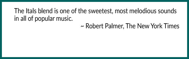 robert palmer on the itals