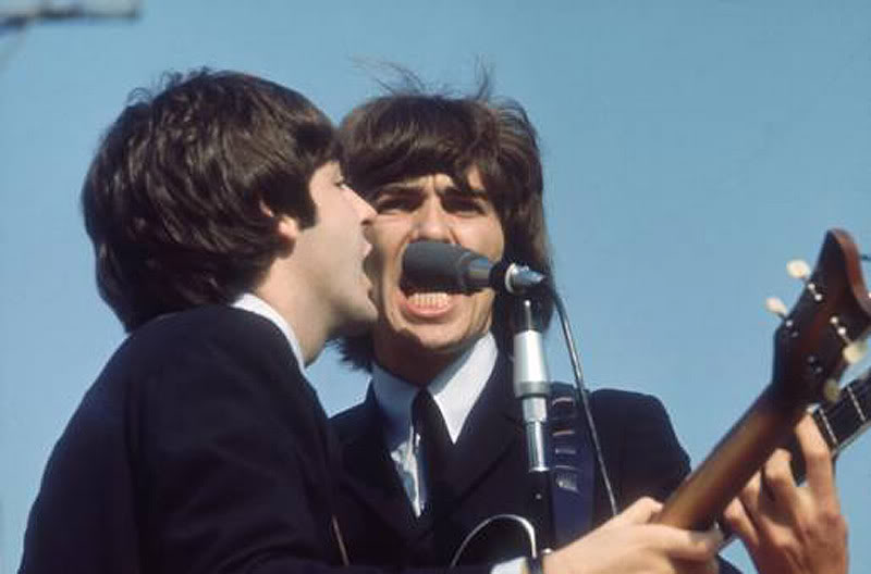 The Beatles at Comiskey 05