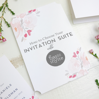 How to Choose Your Invitation Suite with Basic Invite