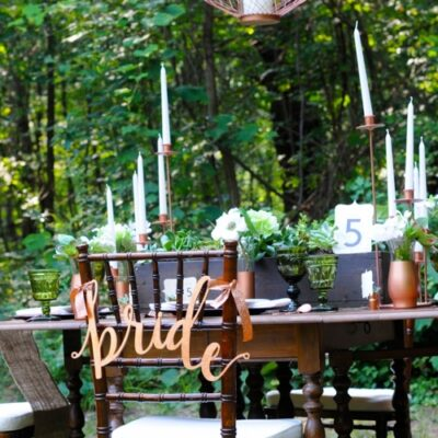 Spring Wedding Color and Decor Trends