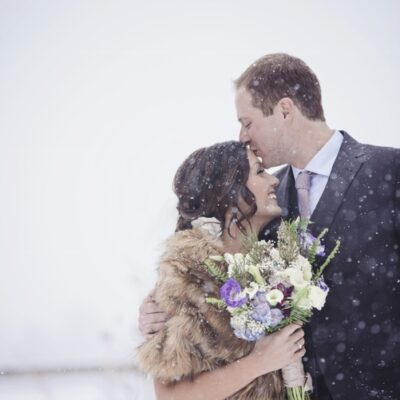 Rustic Meets Glam in a Winter Wonderland: Erin & Chase