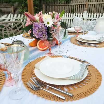 Recreate the Look: Summer Tablescape