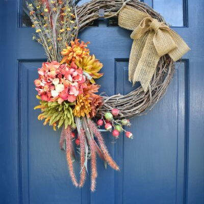 Get Ready for Fall with This Easy DIY Fall Wreath