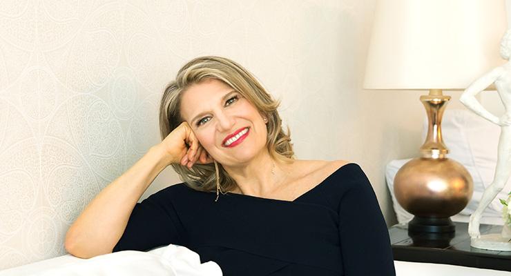 Regena Thomashauer (from Best Self Magazine; Photo Copyright (c) Bill Miles)