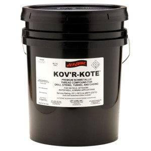 Metal free thread compound Jet-Lube KovR-Kote.
