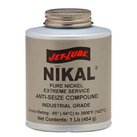 Pure nickel anti-seize compound Jet-Lube Nikal Anti-Seize Compound.