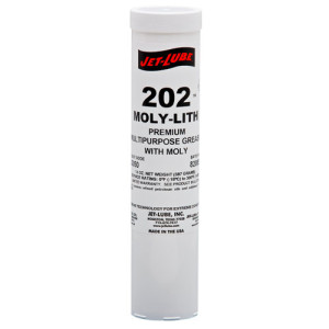 Lithium EP grease with molybdenum disulfide Jet-Lube 202 Moly-Lith