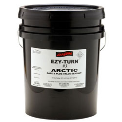 Gate and plug valves sealant for light hydrocarbon liquids and gases Jet-Lube Ezy-Turn #3 Arctic.