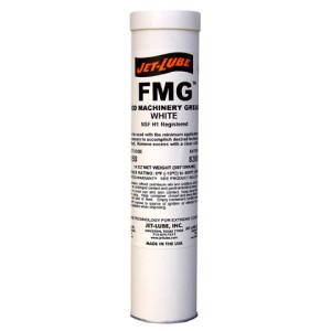 Food grade, water resistant, multipurpose grease Jet-Lube FMG.