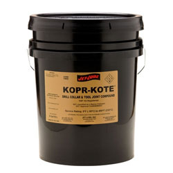 Copper based dril collar and tool joing compound Jet-Lube KopR-Kote.