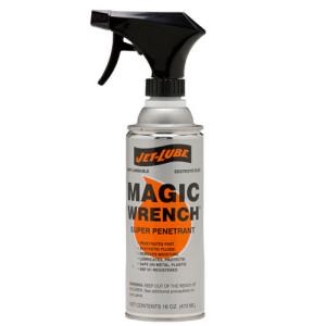 Lubricant, penetrant, rush inhibitor Jet-Lube Magic Wrench.