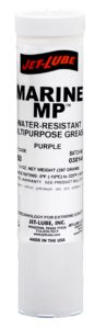 Marine application calcium and lithium soap EP grease Jet-Lube Marine MP.
