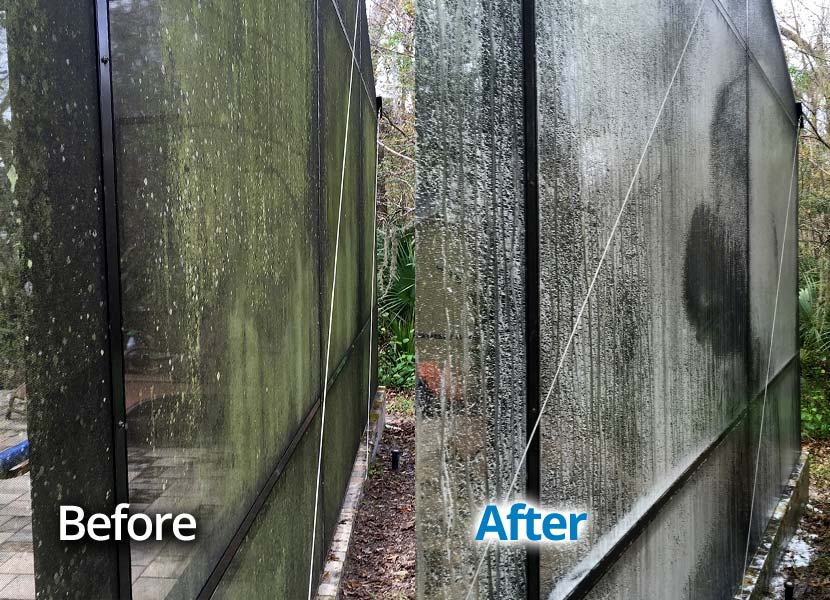Pool Screen Enclosure Cleaning Seminole County Central Florida