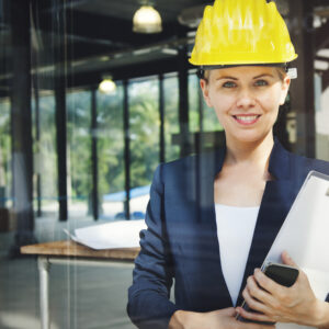 There is still an imbalance in the ratio of women to men in the construction industry …