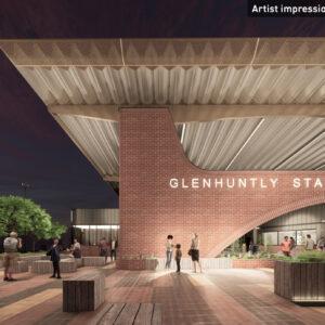New Glenhuntly Railway station designs revealed