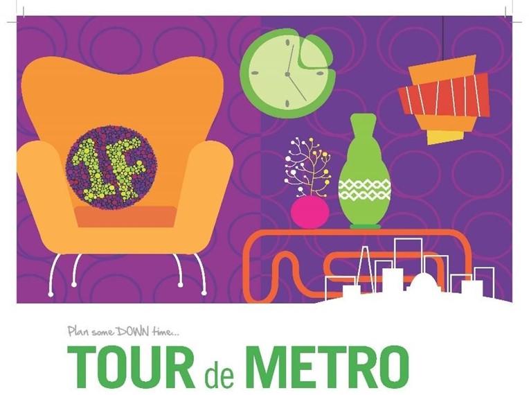 Tour De Metro graphic