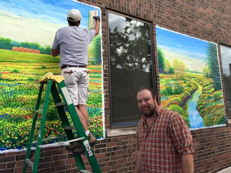Jeff Little Mural II
