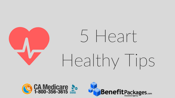 5 Heart Healthy Tips