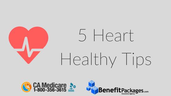 5 Heart Healthy Tips