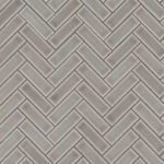Dove Gray Herringbone Pattern 8mm