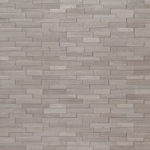 Gray Oak 3d Mini Stacked Stone Panels