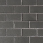 Metallic Gray Subway 2x4x8mm