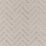 Portico Pearl Herringbone Pattern 8mm