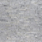 Sky Gray Mini Stacked Stone Panels