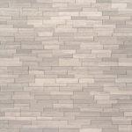 White Oak 3d Mini Stacked Stone Panels